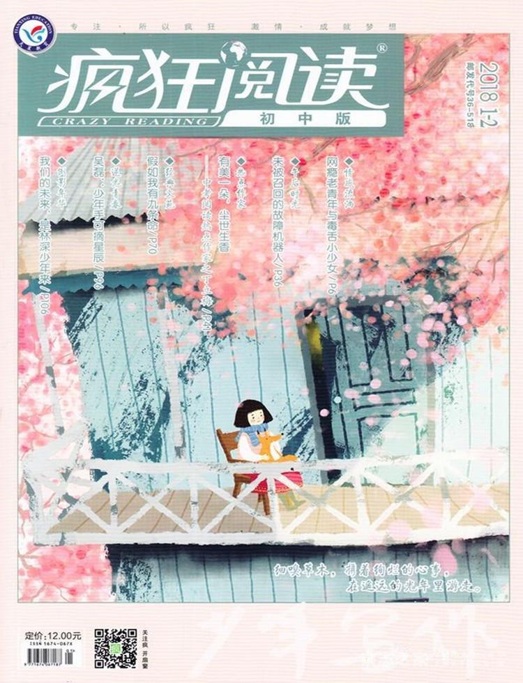 疯狂阅读初中版杂志
