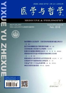 医学与哲学(A)