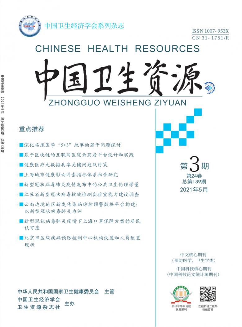 中国卫生资源
