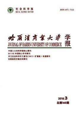 哈尔滨商业大学学报(社会科学版)