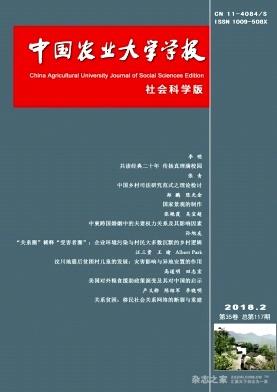 中国农业大学学报(社会科学版)