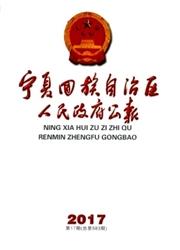 宁夏回族自治区人民政府公报