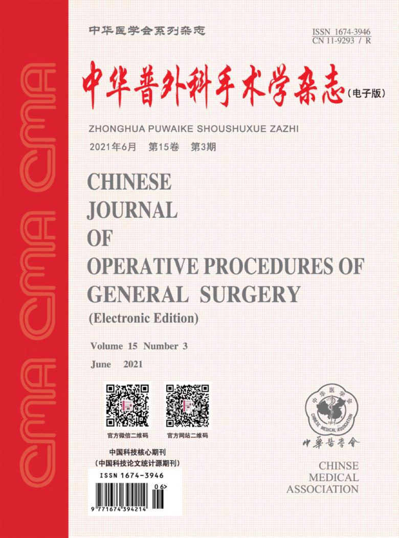 中华普外科手术学