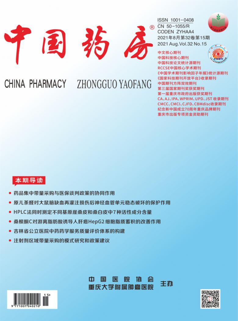 中国药房杂志社