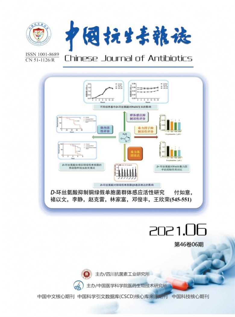 中国抗生素