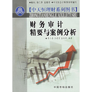 财务审计精要与案例分析