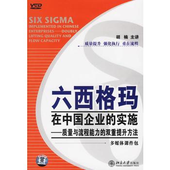 六西格玛在中国企业的实施