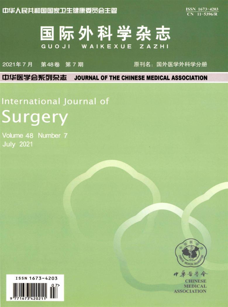 国际外科学