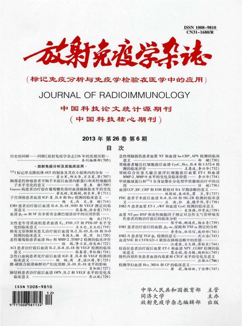 放射免疫学